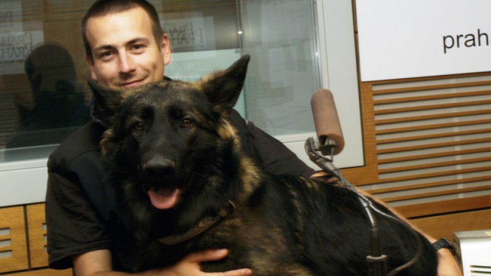 Michal Sitte a pes Alex