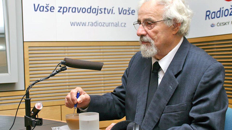 Bývalý politik Valtr Komárek