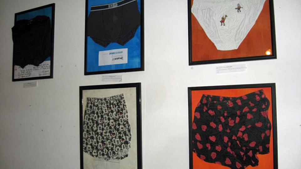 Expozice spodního prádla