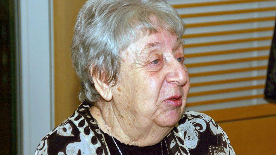 Malířka Helga Hošková-Weissová