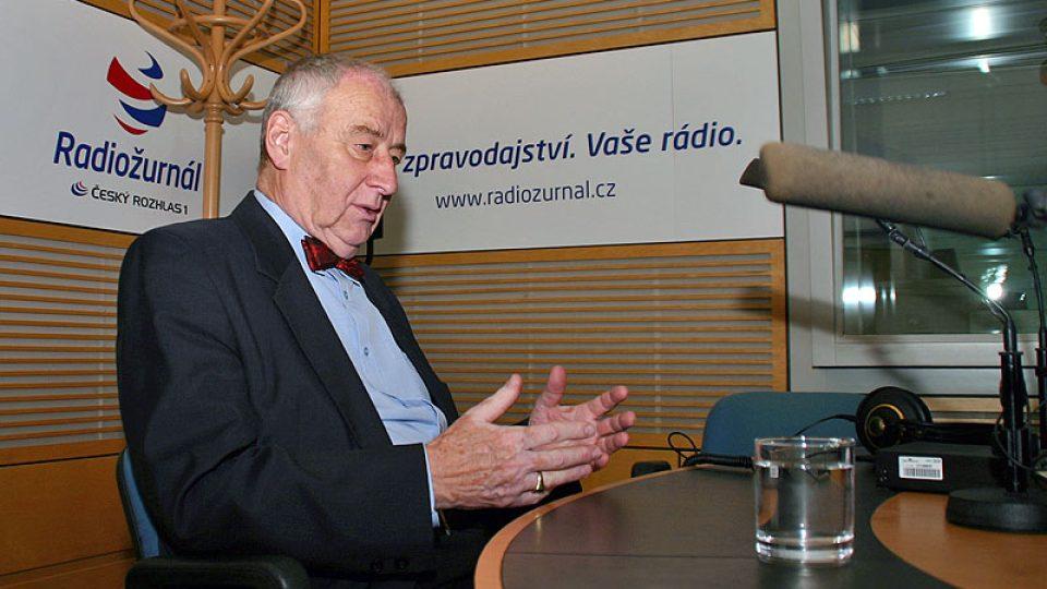 Lékař a onkolog Josef Koutecký