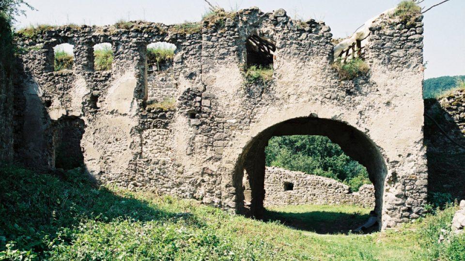 Stav brány před rekonstrukcí