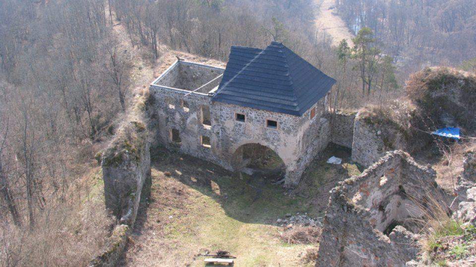 Brána po rekonstrukci