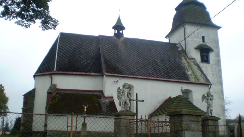kostelík v Číhošti