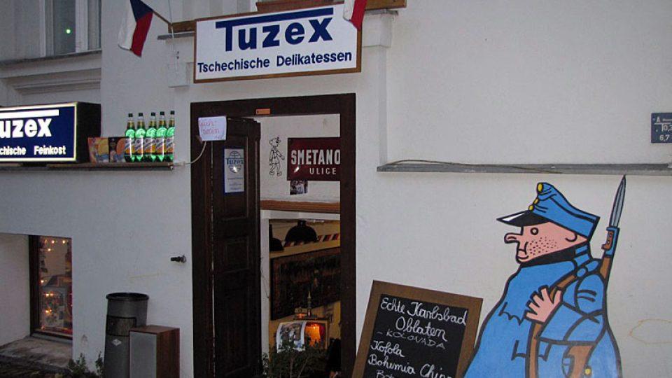 Vstup do berlínského Tuzexu