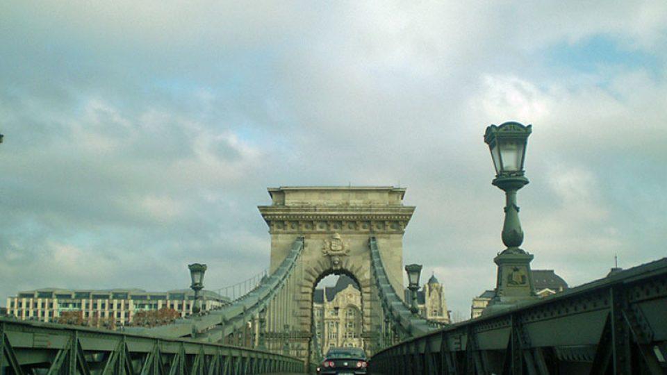 Řetězový most v Budapešti