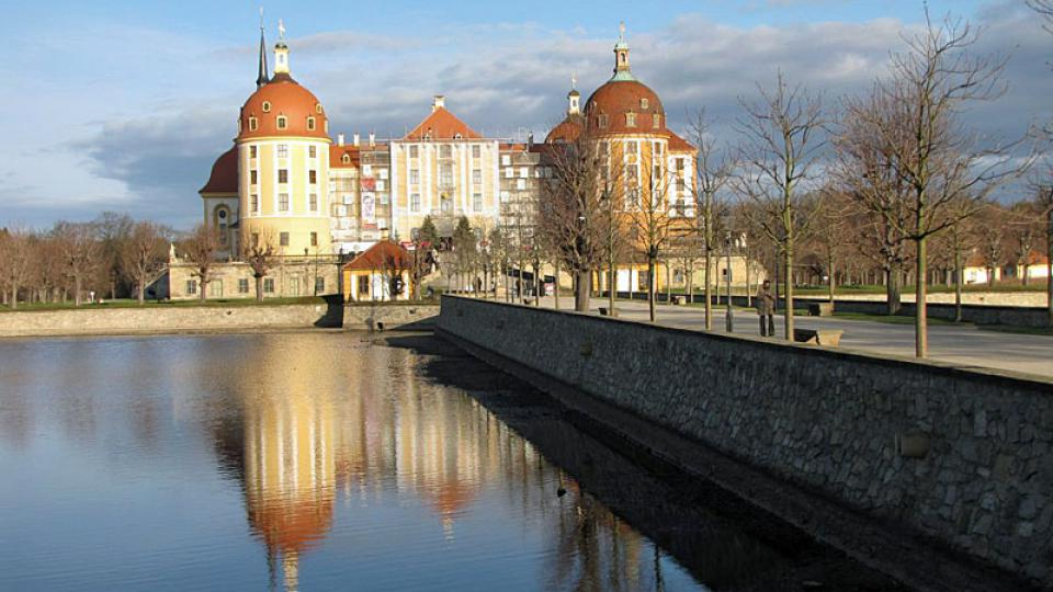 Moritzburg v Německu