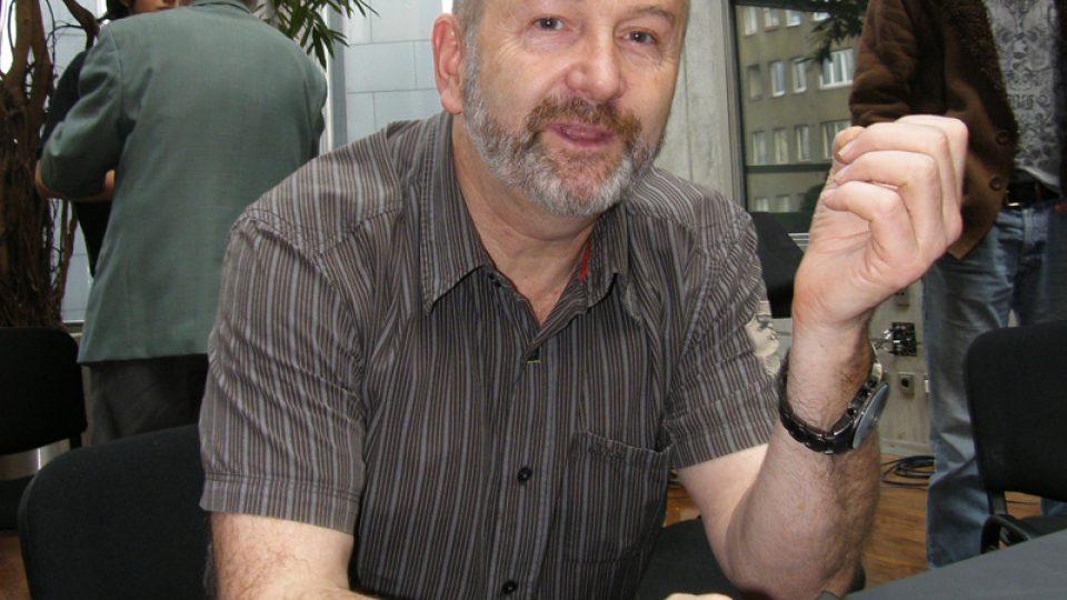 Jiří Kolbaba před natáčením