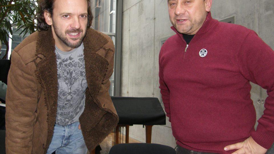 Olda Krejčoves a Vladimír Kroc
