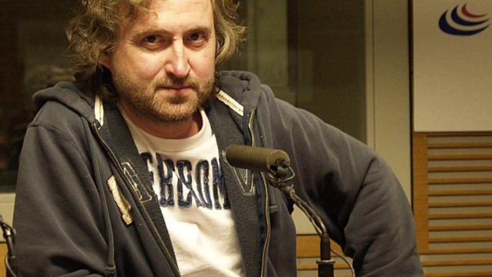 Jan Hřebejk ve studiu