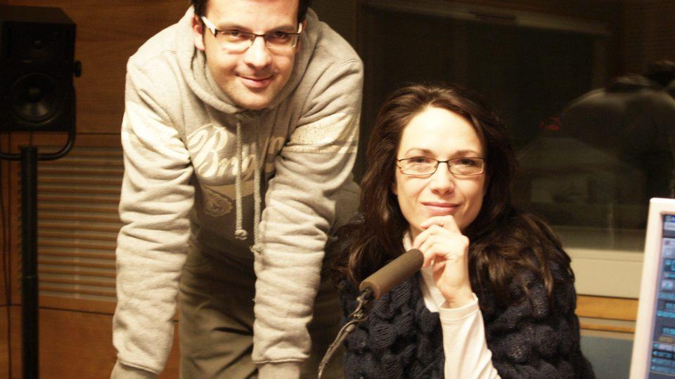 Tereza Kostková sa Tomášem Voženílkem