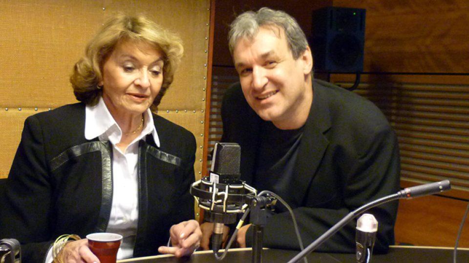 Iveta Simonová a Jaromír Ostrý