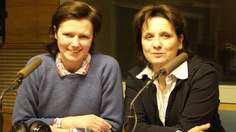 Veronika Freimanová a Zuzana Burešová