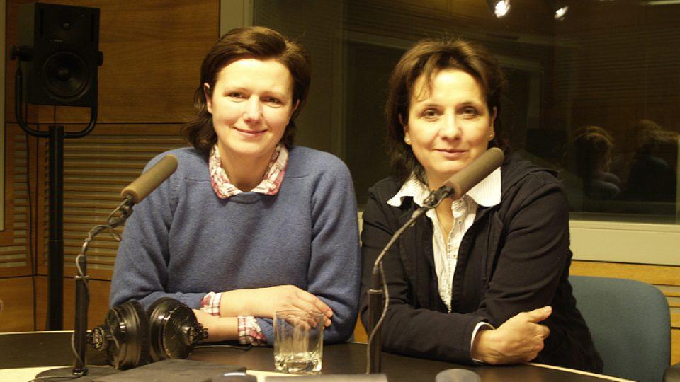 Zuzana Burešová a Veronika Freimanová
