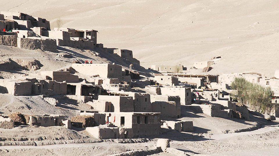 Pohled na vesnici Pista