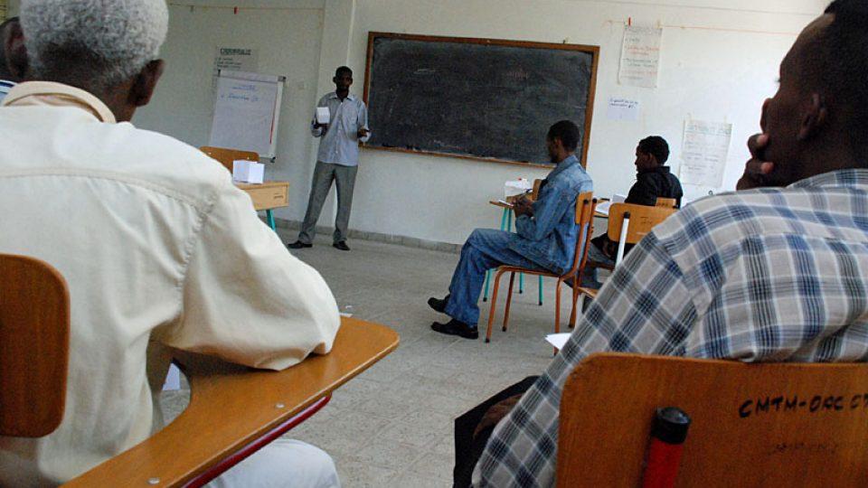 Vzdělávací středisko pro učitele v Etiopii