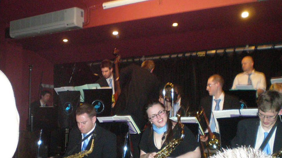 Blue Flamingo Big Band na koncertě