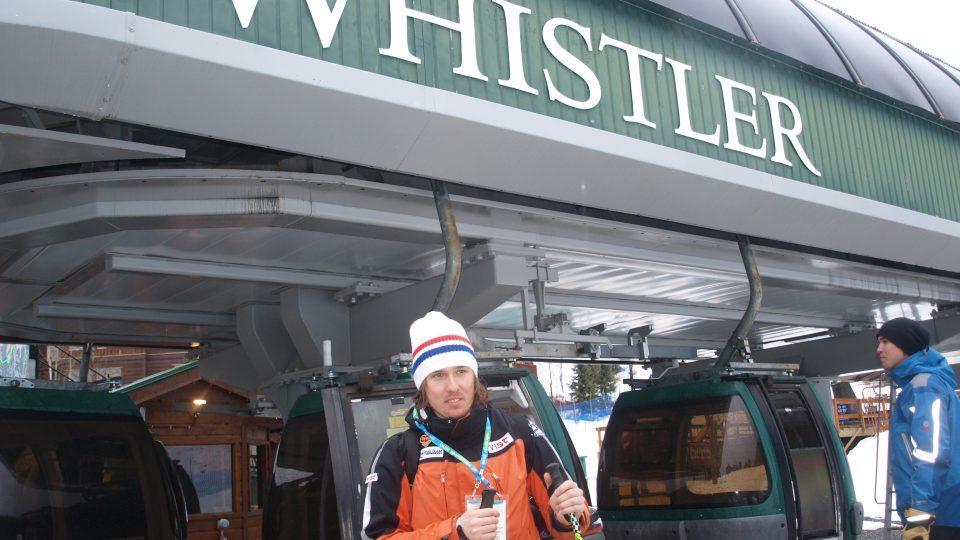Ondřej Bank ve Whistleru