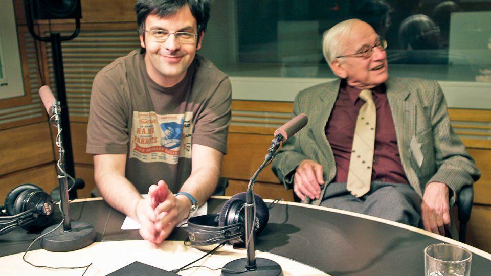 Rudolf Zahradník a Tomáš Voženílek