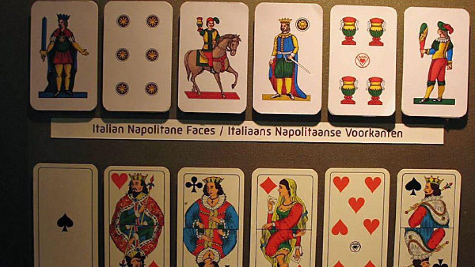 Exemláře italských karet