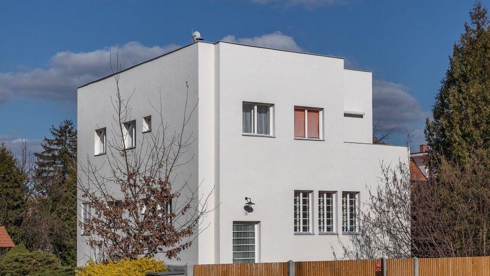 Müllerova vila v Olomouci po rekonstrukci, architekt Paul Engelmann