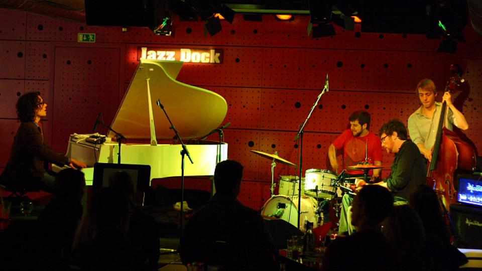 Brian Haas, Josh Raymer, Chris Combs, Matt Hayes - Jacob Fred Jazz Odyssey - Jazz Dock (6. 3. 2010)