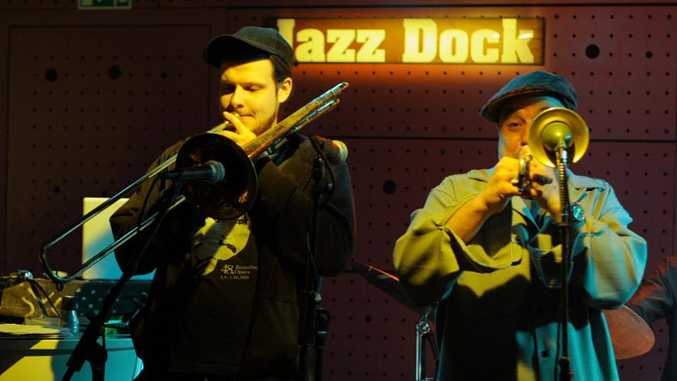Jan Jirucha, Steven Bernstein - Sex Mob - Jazz Dock (13. 3. 2010)