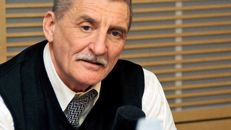 Oblíbený herec Martin Huba