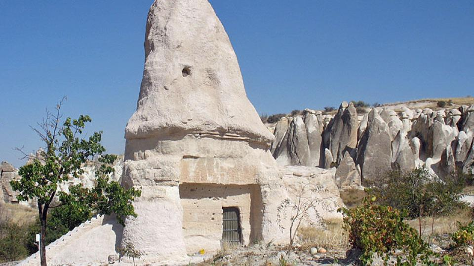 Klášter nedaleko tureckého města Göreme
