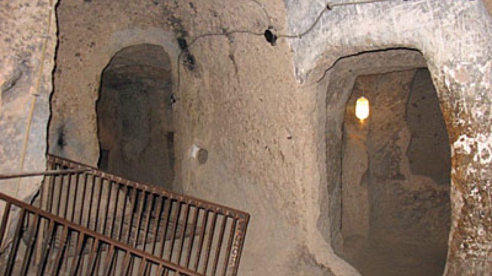 Podzemní chodby skalního města