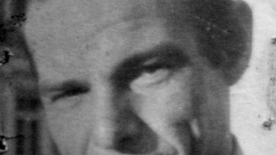 Rudolf Bělohoubek v mládí