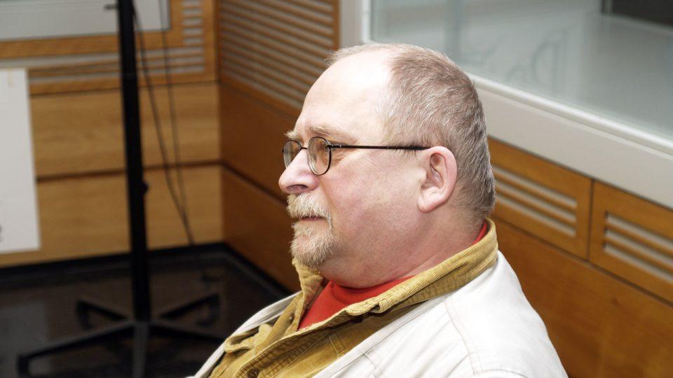 Luboš Němeček z profilu