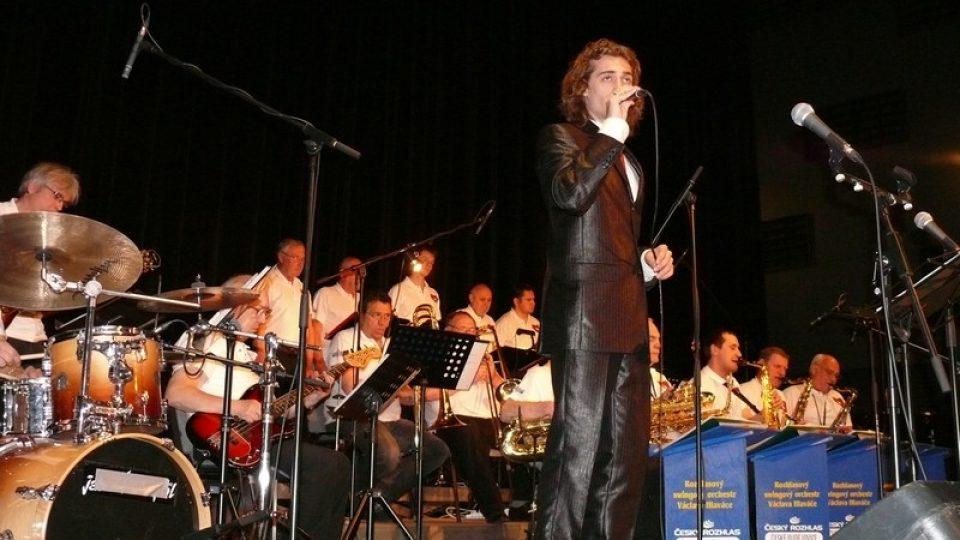 Jan Kopečný - sólista Rozhlasového swingového orchestru