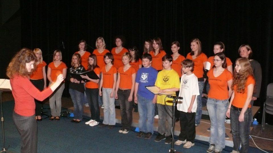 Vystoupení dětského pěveckého sboru Canzonetta