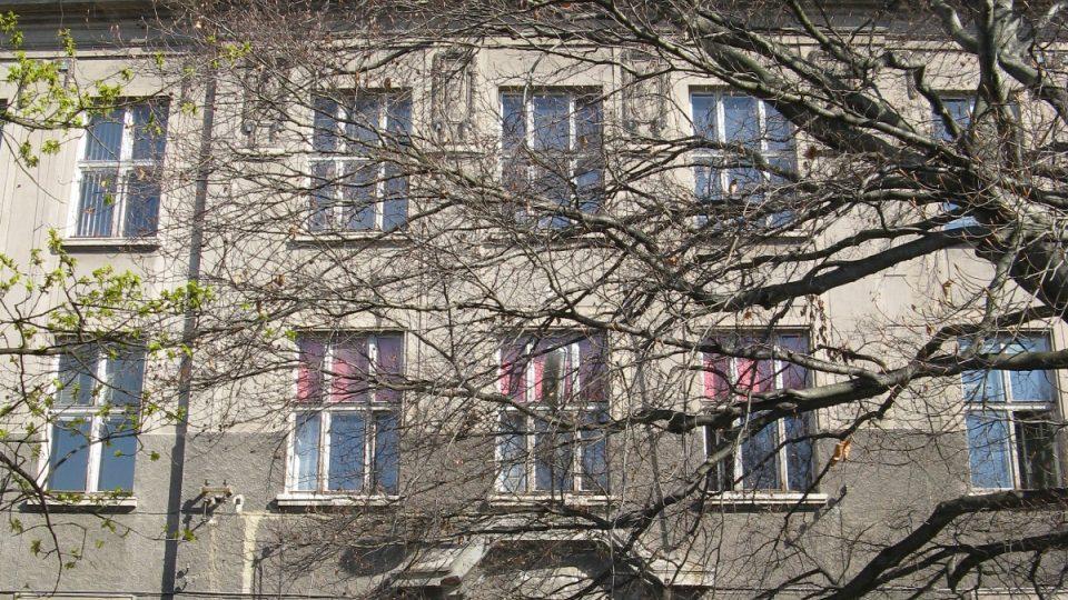 Původní historická budova gymnnázia
