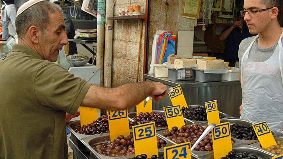 Cena oliv se před šábesem nemění