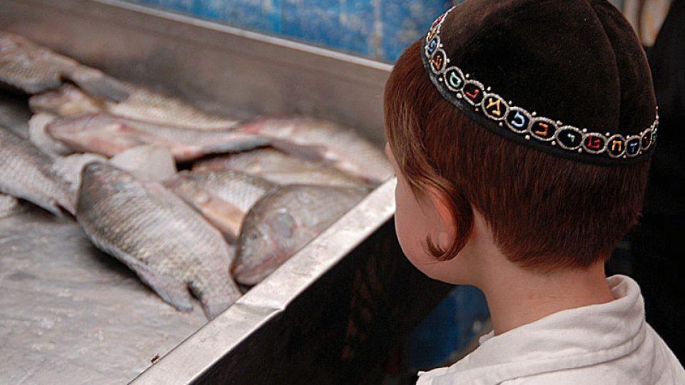 Děti na tržišti Machane Jehuda