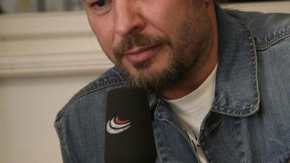 Petr Kolář při rozhovoru