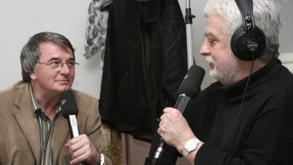 Vlastimil Harapes s Jakubem Jakoubkem