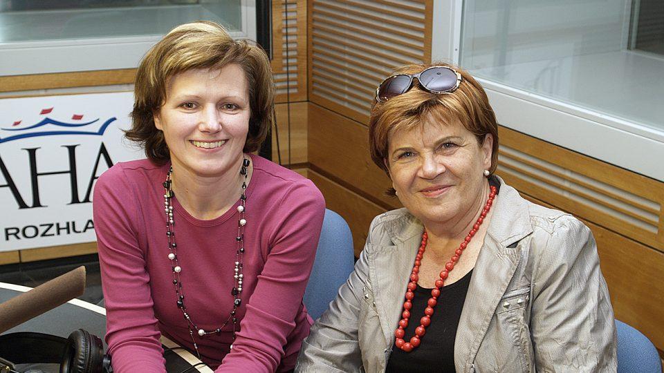 Zuzana Baudyšová a Zuzana Burešová