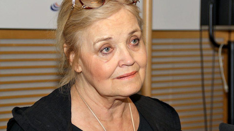 Herečka Gabriela Vránová