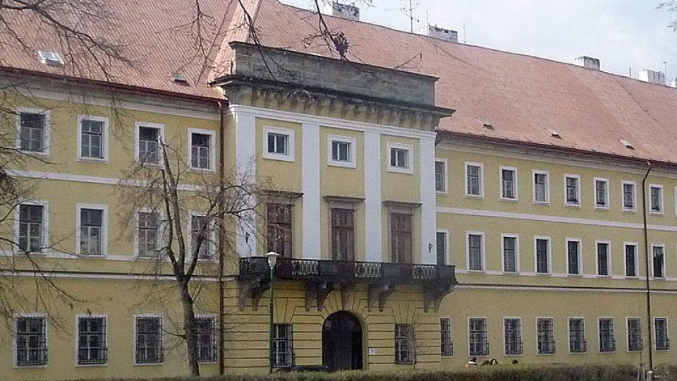 Budova velitelství v Josefovské pevnosti