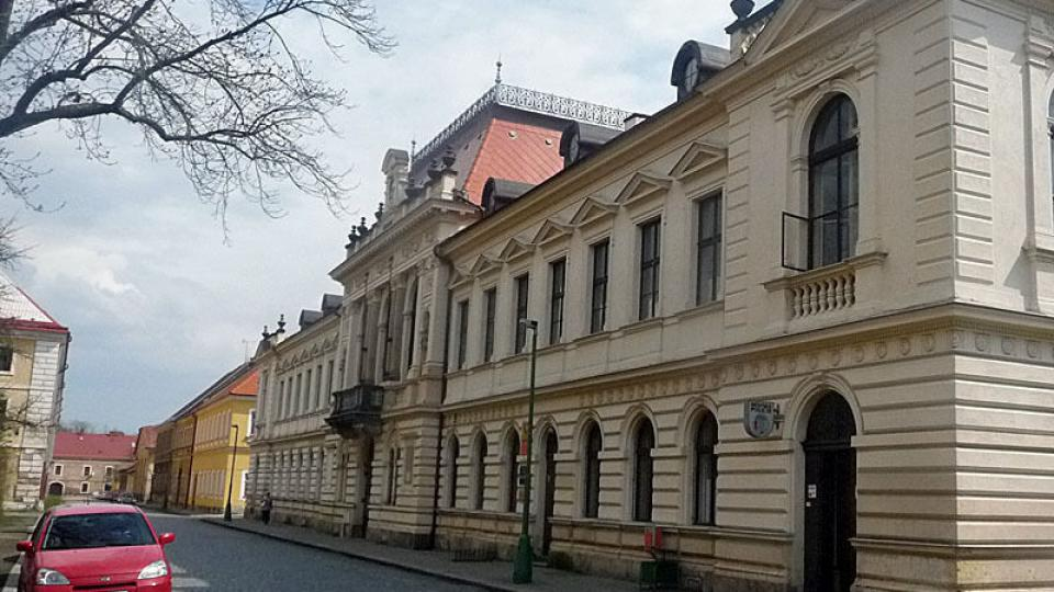 Nová radnice s muzeeem