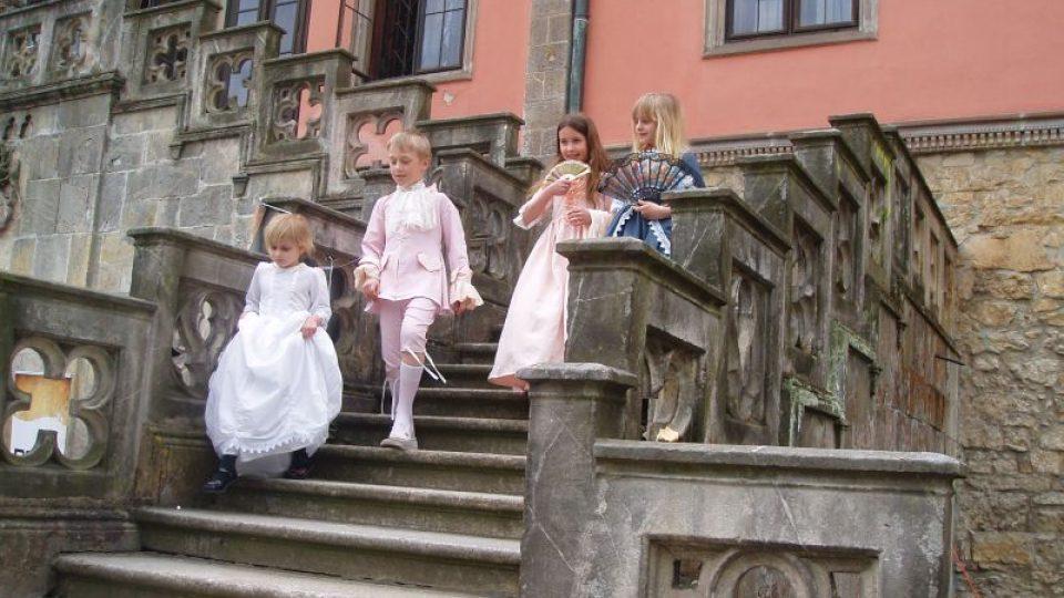Už potřetí patřil zámek Sychrov dětem z Dětského domova v Mladé Boleslavi