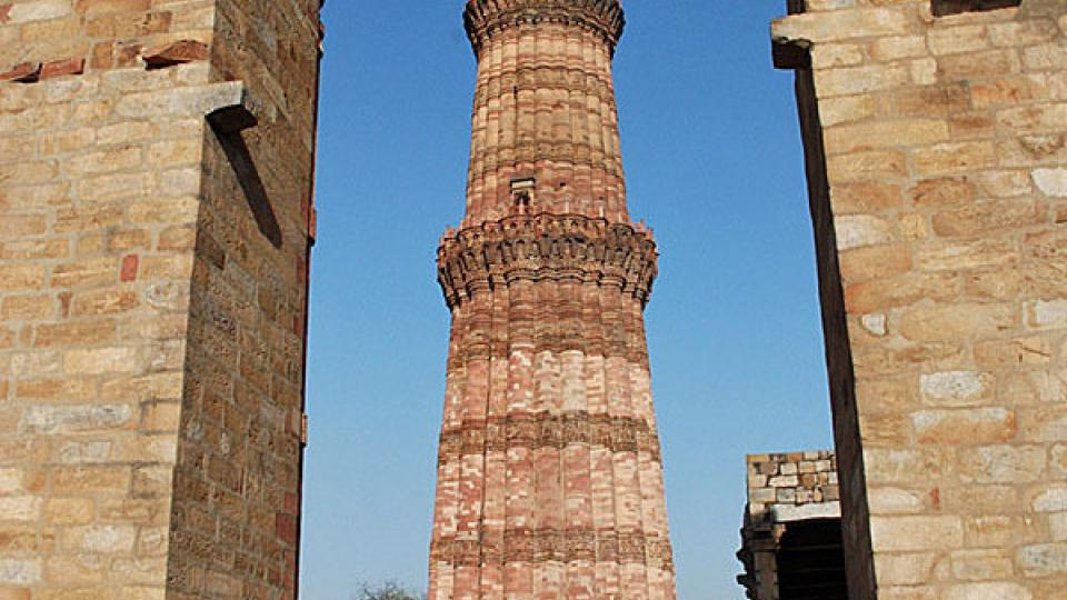 Areál mešity Qutub Minar