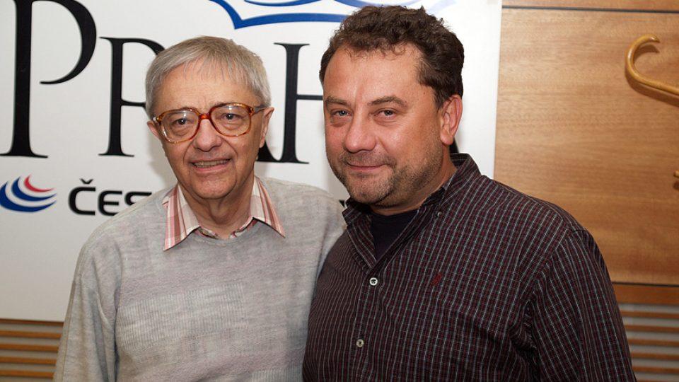 Miloň Čepelka a Vladimír Kroc