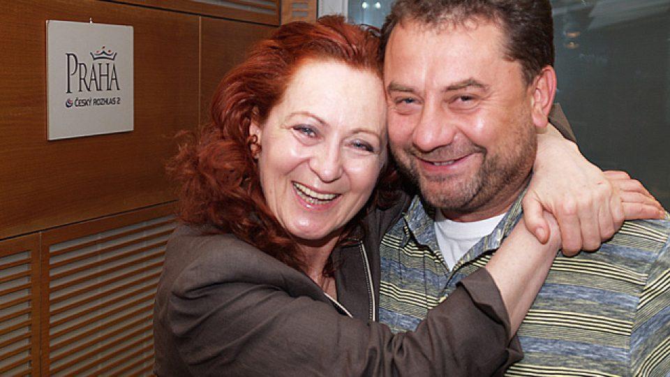 Simona Stašová a Vladimír Kroc