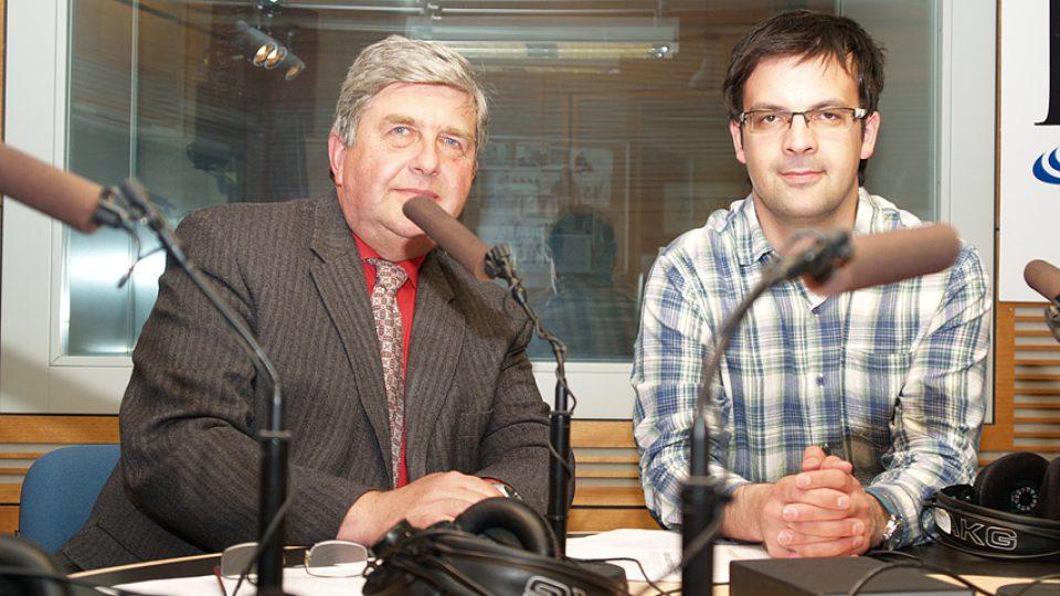 František Kadlec a Tomáš Voženílek