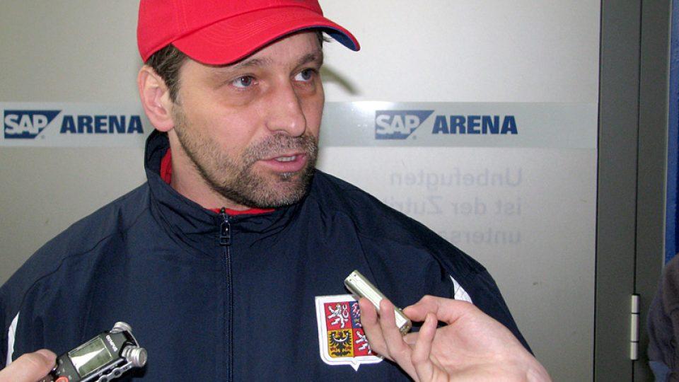 Josef Jandač, asistent trenéra Vladimíra Růžičky
