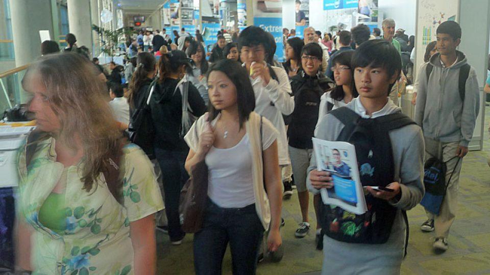 Mladí vědci na veletrhu Intel ISEF